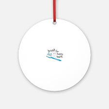 Happy Teeth Ornament (Round)
