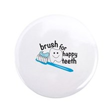 Happy Teeth Button