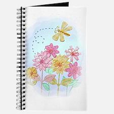 Tatted Dragonfly Garden Journal