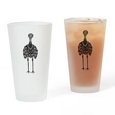 Emu Drinking Glass