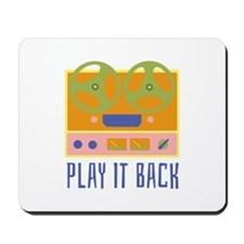 Play It Back Mousepad