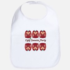 Ugly Sweater Party Bib