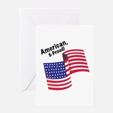 Proud & American Greeting Cards