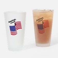 Proud & American Drinking Glass