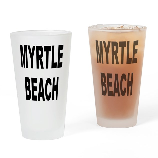 Myrtle Beach Drinking Glass By TravelSpots
