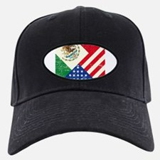 Two Flags, One Race Baseball Hat