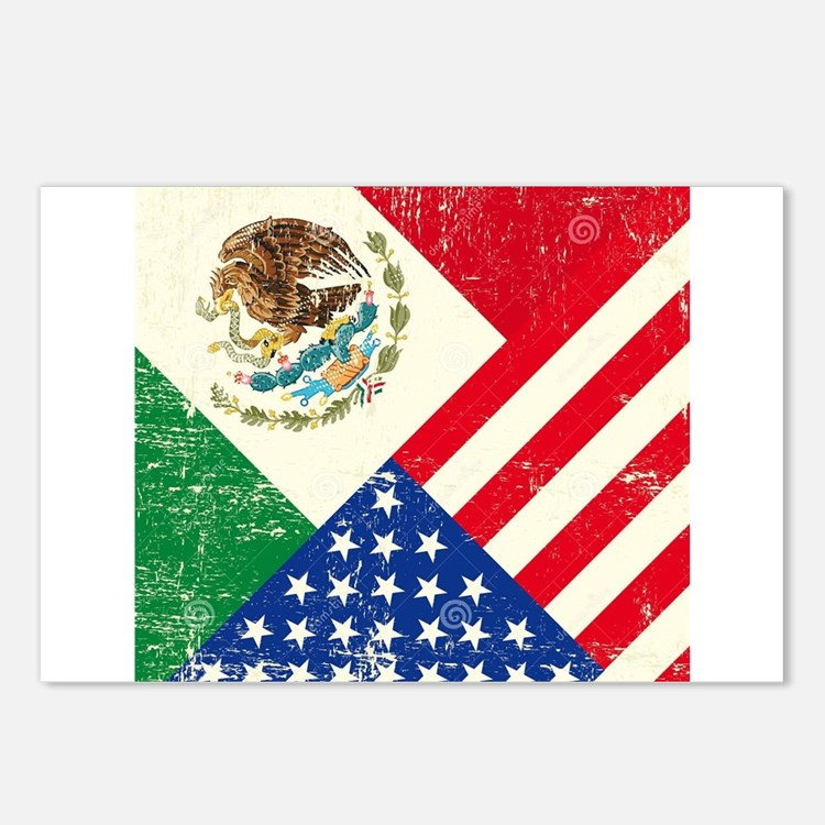 Two Flags, One Race Postcards (Package of 8)