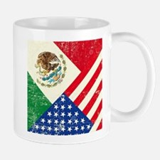 Two Flags, One Race Mugs
