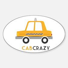 Cab Crazy Decal