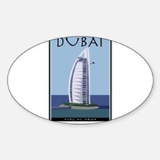 Cute United arab emirates Sticker (Oval)