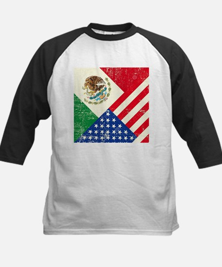 Two Flags, One Race Baseball Jersey