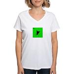 iPod Design iFly Women's V-Neck T-Shirt