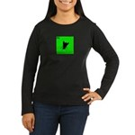 iPod Design iFly Women's Long Sleeve Dark T-Shirt