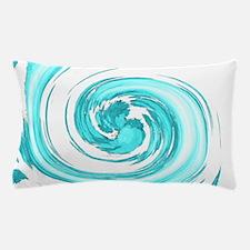 Sea Foam Spiral Pillow Case