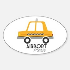 Airport Please Decal