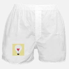 Light Bulb Boxer Shorts