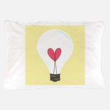 Light Bulb Pillow Case