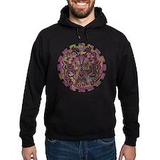 Aztec Warrior Psychedelic Mask Hoodie