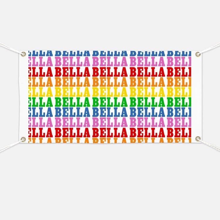Rainbow Name Pattern Banner
