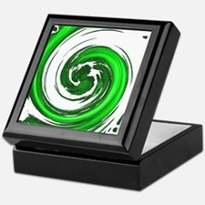 Jade Spiral Keepsake Box