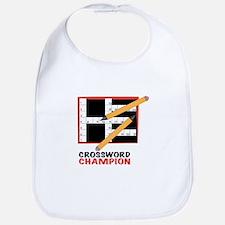 Crossword Champ Bib