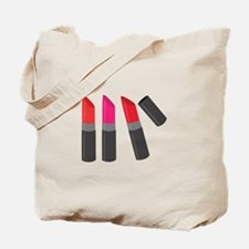 Lipsticks Tote Bag