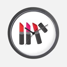 Lipsticks Wall Clock