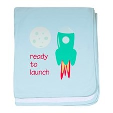 Ready To Launch baby blanket
