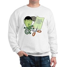 Rock Paper Scissors Lizard Spock Sweatshirt