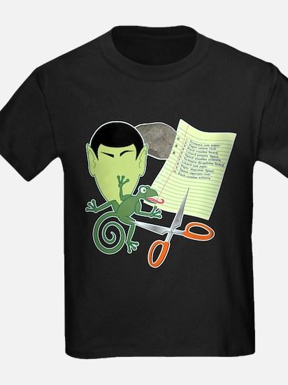 Rock Paper Scissors Lizard Spock T