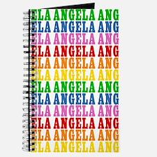 Rainbow Name Pattern Journal