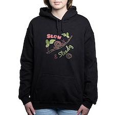 Slow & Steady Women's Hooded Sweatshirt