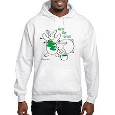 Wear the Green Hoodie