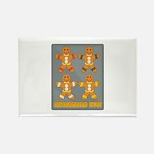 Gingerbread Hugs Magnets