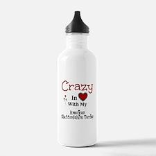 American Staffordshire Terrier Water Bottle