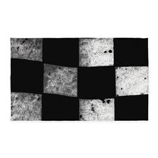 Checkered Flag Area Rug