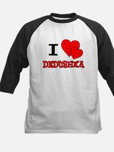 I Love Dedushka Baseball Jersey