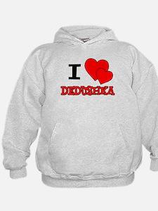 I Love Dedushka Hoodie