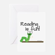 Reading Is Fun! Greeting Cards
