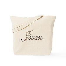 Gold Jovan Tote Bag
