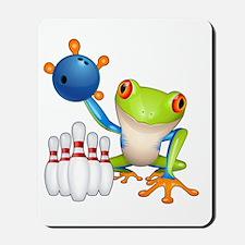 Bowling Frog Mousepad