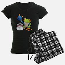 Bowling Frog Pajamas