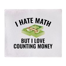 I Love Counting Money Stadium Blanket