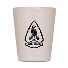 ST6 - The Tribe (BW) Shot Glass