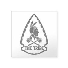 "ST6 - The Tribe (BW) Square Sticker 3"" x 3"""