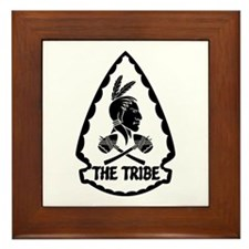 ST6 - The Tribe (BW) Framed Tile