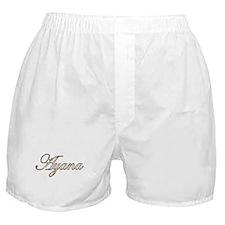 Gold Ayana Boxer Shorts