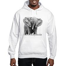Love Elephants! Hoodie