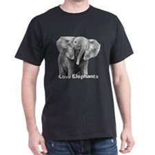 Love Elephants! T-Shirt