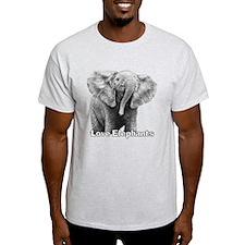 Love Elephants! T-Shirt